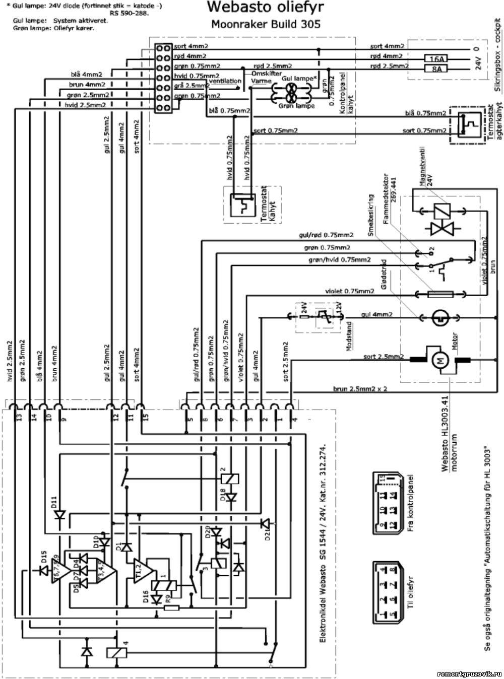 Webasto Hl 3030 Инструкция