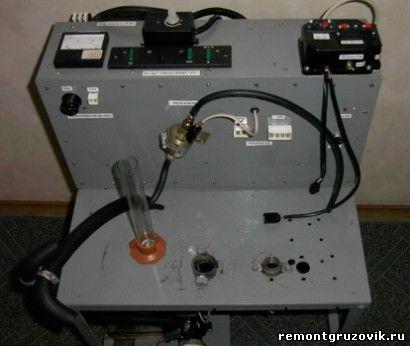 Стенд контроля подогревателей