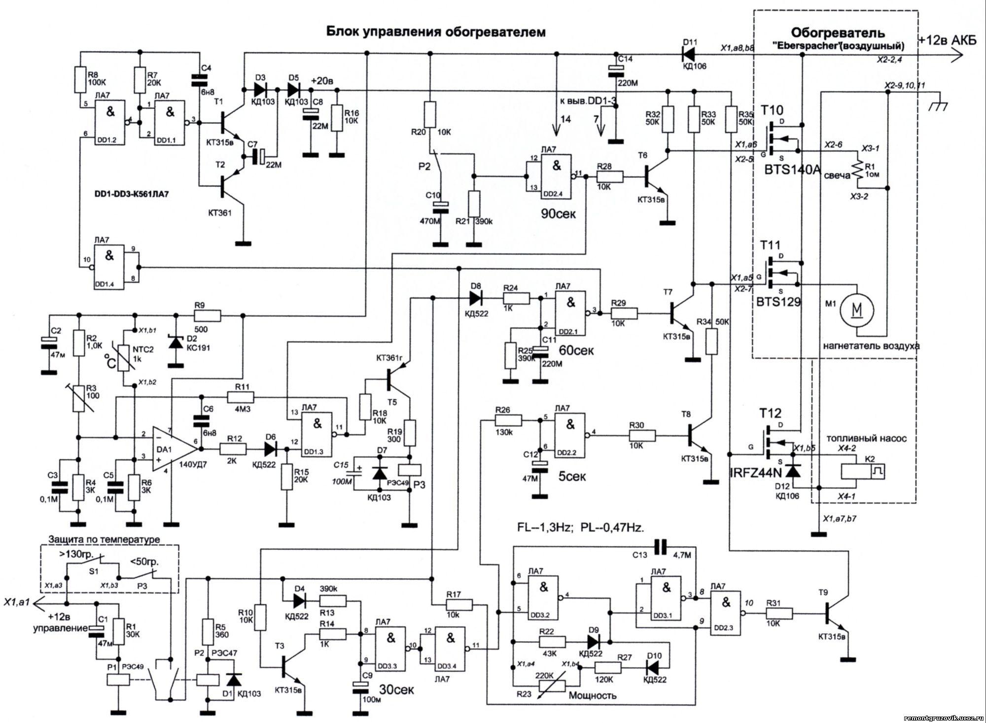 схема эбершпехер