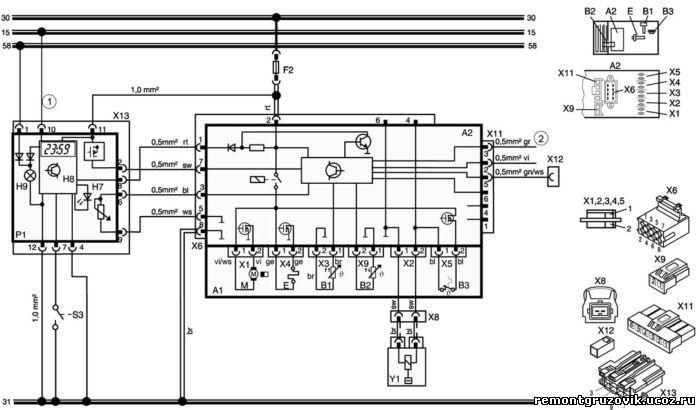 Электрическая схема Air Top