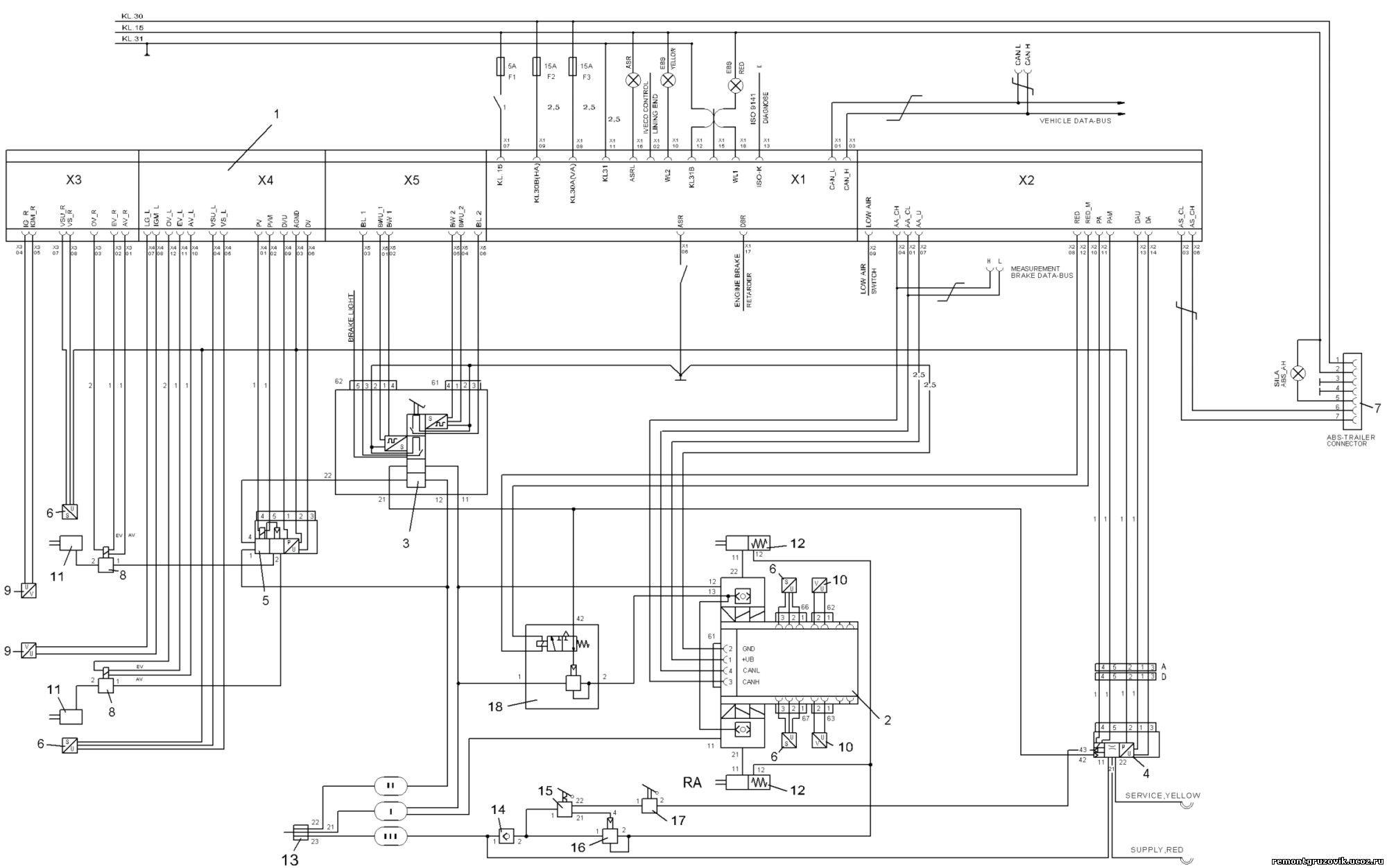 прицепы для легковых автомобилей электрическая схема