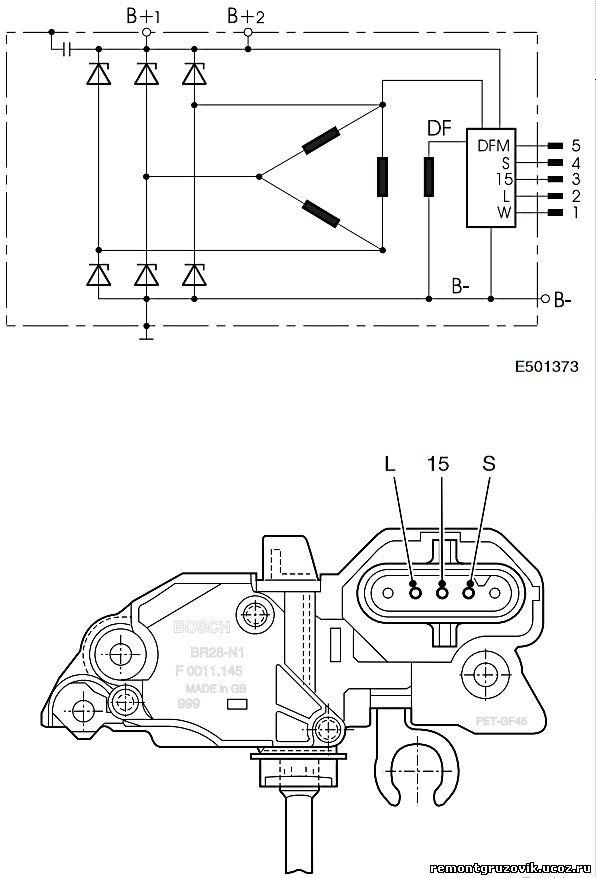 DAF XF 105 диагностические