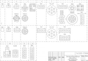 Электросхемы на  МАЗ-543205, МАЗ-65151